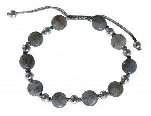 Bracelet en Labradorite et Argent www.revedejade.com